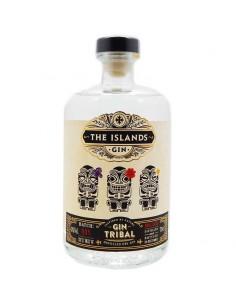 Gin Tribal - The Islands Gin - Gin Français - 70cl - 43%