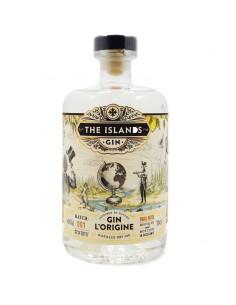 Gin L'Origine - The Islands Gin - Gin Français - 70cl - 43%