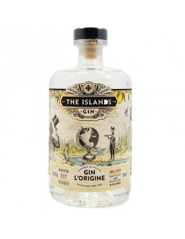 Gin L'Origine - The Islands Gin - Gin...