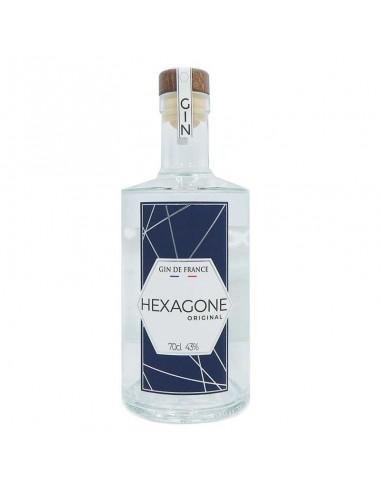 Hexagone Gin Bio - Gin Hexagone  -...
