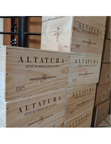 Caisse bois 6 Bouteilles - Altatura...